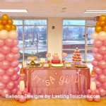 Mini & Large Columns for Baby Shower