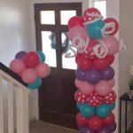 Balloon Column and Bouquet