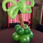 Palm Tree Tabletop Balloon Design