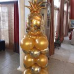 Balloon Column with Pineapple Topper