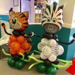 Tiger Zebra balloon design