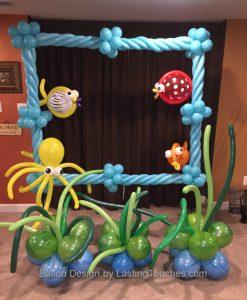 Photo Frame Balloon Design