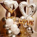 Heart, Ring, Love Columns