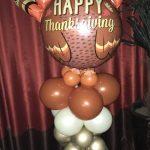 Thanksgiving turkey balloon design