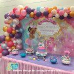Little Princess Garland Balloon Design