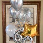 60th Birthday Balloon Bouquet 3