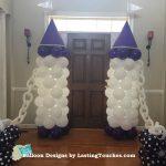 Baby Shower Capsule Balloon Columns-1