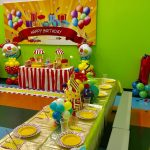 Birthday Ballon Designs on Table
