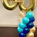 Column Ballon with topper