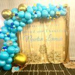 Organic Garland Balloons Frontview