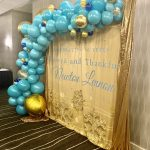 Organic Garland Balloons Sideview