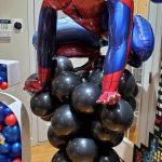 spiderman balloon column