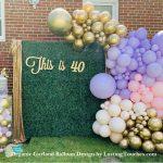 Organic Garland Balloon Decor
