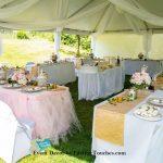 Outdoor Birthday Event Decor