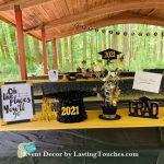 Outdoor Gazebo Graduation Party Decor
